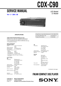Sony CDX-C90