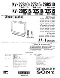Sony KV-27S10