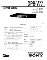 Sony DPS-V77