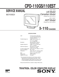 Sony CPD-110EST
