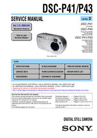Sony DSC-P41