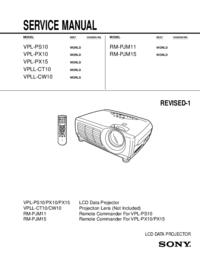 Sony RM-PJM15