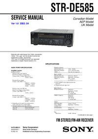 Sony STR-DE585