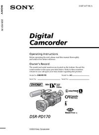 Sony DSR-PD170