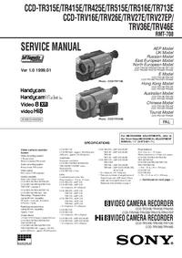 Sony CCD-TR415E