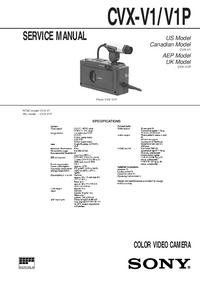 Sony CVX-V1