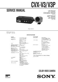 Sony CVX-V3P