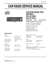 Subaru CQ-JF1360L