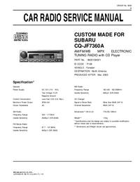 Subaru CQ-JF7360A