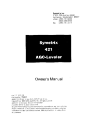 Symetrix 421