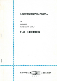SystronDonner TL8-3 Series