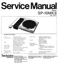 Technics SP-10MKII