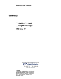 Tektronix TAS 455