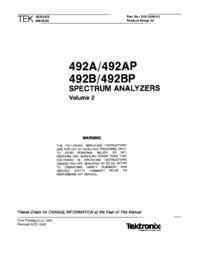 Tektronix 492BP
