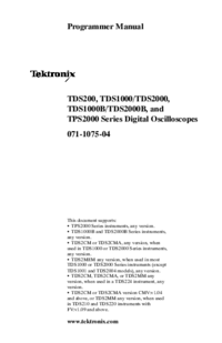 Tektronix TDS2000B Series