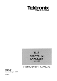 Tektronix 7L05