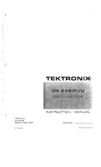 Tektronix OS-245U