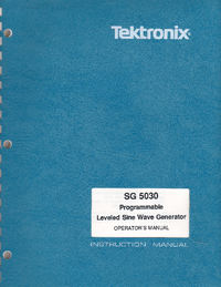 Tektronix SG 5030