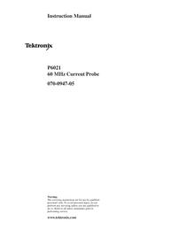 Tektronix P6021