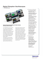 Tektronix TDS7000B Series
