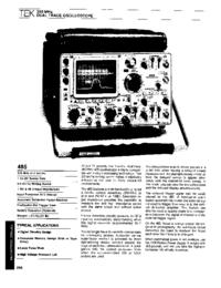 Tektronix 485