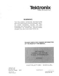 Tektronix 067-0587-02