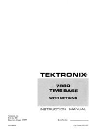 Tektronix 7B80