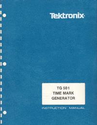 Tektronix TG 501