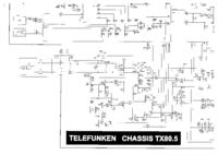 Telefunken Chassis TX80.5