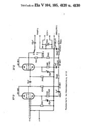 Telefunken Ela V105 (4120, 4130)?