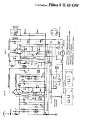 Telefunken Filius 9 H 43 GW