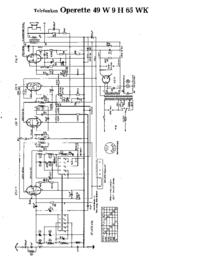 Telefunken Operette 9 H 65 WK