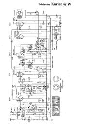 Telefunken Kurier 52 W