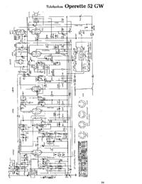 Telefunken Operette 52 GW