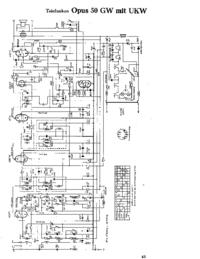 Telefunken Opus 50 GW