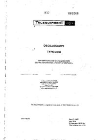 Telequipment DM63
