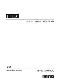 Thurlby TG120