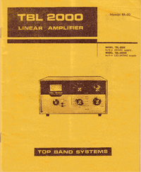 Topbandsystems TBL 2000X
