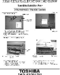 Toshiba Satellite 480