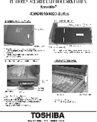 Toshiba Satellite 4010