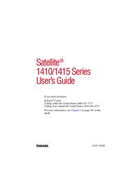 Toshiba Satellite 1415 Series