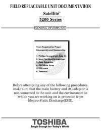 Toshiba Satellite 5200 Series