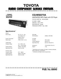 Toyota CQ-MS0270A