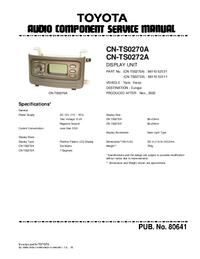 Toyota CN-TS0270A