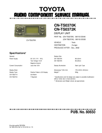 Toyota CN-TS0372K