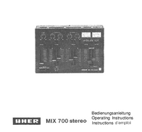 Uher Mix 700 stereo