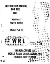 WRL PSA-63