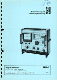 Wandelgoltermann SPM-3