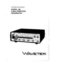 Wavetek 182