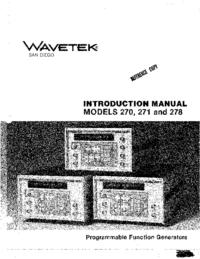 Wavetek 271